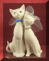 cat cake topper cat wedding cake toppers the wedding specialiststhe wedding