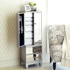 Jewelry Mirror Armoire Jewelry Armoire Mirrored U2013 Dannysierra Co