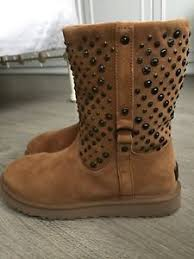 ugg sale boots uk genuine womens genuine ugg boots chestnut suede uk size 8 5 elliot calf