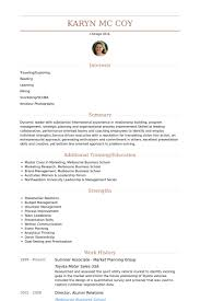 Resume Strengths Examples by Summer Associate Resume Samples Visualcv Resume Samples Database