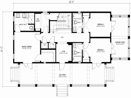 simple rectangular house plans 4 bedroom rectangular house plans new simple square house floor