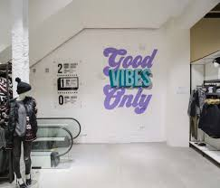 Home Store Design Quarter Graphic Murals For Terranova Style Flagship Store By Alex Fowkes