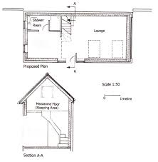 mezzanine plans home design ideas original design plan and section