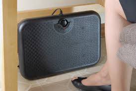 under desk radiant heater new toasty toes ergonomic heated footrest from martinson nicholls