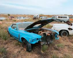 mustang salvage yard 302 in a salvage yard photos photos ford mustang