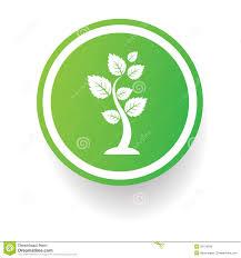 tree symbol tree symbol button on white background stock illustration