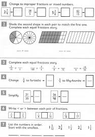 comparing and ordering fractions and mixed numbers worksheet compare and order fractions whose denominators are all multiples