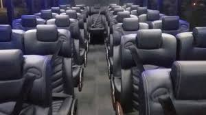 gm40 tour bus black built on the 2018 freightliner 게스관광