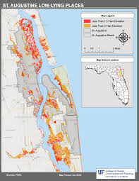 Map Melbourne Fl Maps Planning For Sea Level Rise In The Matanzas Basin
