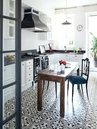 black and white tile kitchen ideas black and white tile floor kitchen ideas photos black and white
