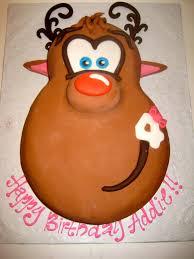 rudolph red nose reindeer cake darlingcake ithaca