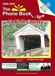 dekalb county yellow pages 2014 by kpc media group issuu