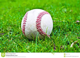 baseball in grass royalty free stock photo image 35571775