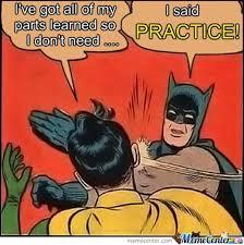Band Practice Meme - fullerton heather band memes