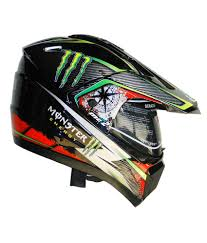 monster motocross helmets gliders motocross helmet mc1 monster energy black with blue