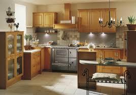 cuisine avec gaziniere cuisinière de chauffage central avec four série elégance cuisinière