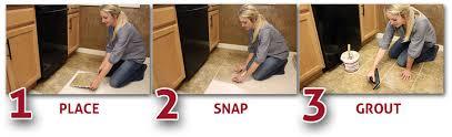 snap tile flooring gurus floor