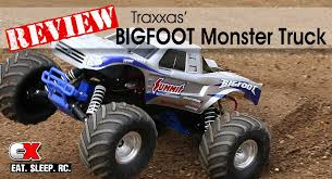traxxas bigfoot 2wd monster truck