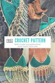 boho crochet boho crochet top pattern