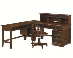 L Shaped Desk Cheap Hammary Mercantile L Shaped Desk And Credenza Wayside Furniture