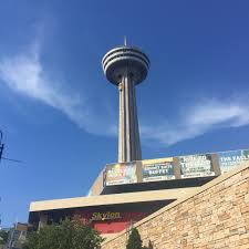 july 2016 sparkles and sippycups we went on the amazing skylon tower to see the complete views of niagara falls this was so cool to do we rode an elevator all the way to the top and