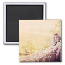 magnetic save the dates save the date magnets zazzle