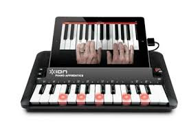 piano keyboard with light up keys ion audio piano apprentice 25 key lighted keyboard for ipad iphone