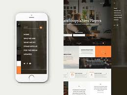 website menu design 30 brilliant mobile navigation menu design concepts web