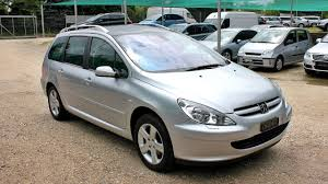 peugeot 608 estate peugeot 307 sw 2 0i 136hp 2004 youtube