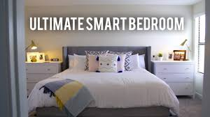 Tech Bedroom by Ultimate Smart Home Bedroom Guide And Room Tour 2017 Youtube