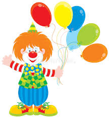 clown balloon l circus clown with balloons stock vector illustration of jester