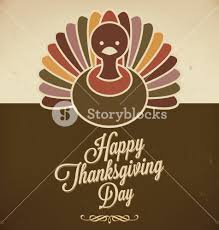 thanksgiving vector art thanksgiving design retro style elements thanksgivings day