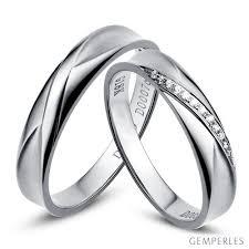 alliance de mariage pas cher alliance duo or blanc idée mariage