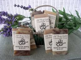 unique wedding favors for guests all things herbal limited handcrafted soap