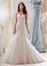 strapless hand beaded embroidered lace wedding dresses 115232 gia