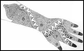 mehndi design sketches picture u2013 cuonun com