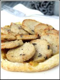cuisiner du boudin blanc tarte au boudin blanc et au chutney de pommes parfumé au curry