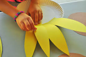 kids sunflower craft u2013 activity for the letter s