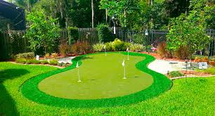 Putting Turf In Backyard Backyard Putting Greens Synthetic Grass Home Putting Green