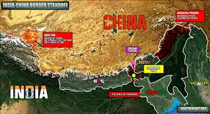 Karakorum On Map Situation In Doklam Plateau China India Border Standoff