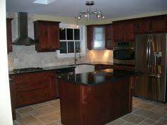 Kitchen Cherry Cabinets Hardwood Floors In Kitchens Pictures Cherry Cabinets With Wood