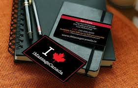 Massage Business Cards Examples Business Cards Design Khb Web Design In Victoria Bc