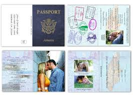 Indian Baby Shower Invitation Cards Passport 20 Included Response Card Style 3 Custom Passport