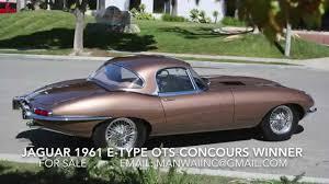 jaguar 1961 e type ots flat floor welded louvers show