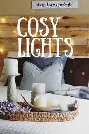 cozy lights ideas decoration lights and craft