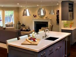 Kitchen Island With Seating Area Kitchen Island With Sink Victoriaentrelassombras Com