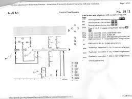audi a8 seat wiring diagram audi wiring diagrams instruction