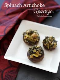 healthy spinach artichoke appetizer parties for pennies