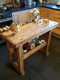 kitchen islands and carts furniture vintage workbench kitchen island butchers block prep table