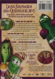 amazon com veggie heroes of the bible vol 1 veggietales movies